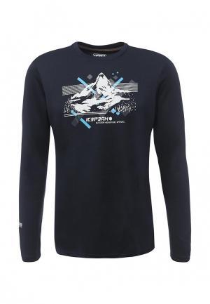 Лонгслив спортивный Icepeak. Цвет: синий