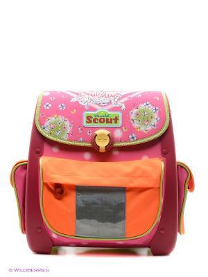 Ранец EASY II Сказка Scout. Цвет: розовый