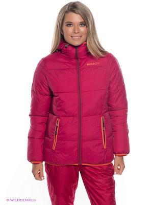 Куртка BRUNOTTI. Цвет: малиновый