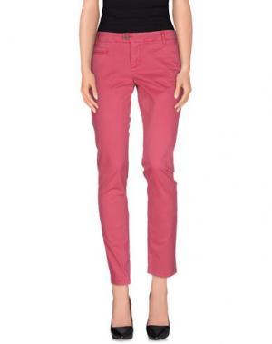 Повседневные брюки BLAUER. Цвет: пурпурный
