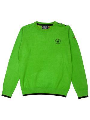 Джемпер Aspen Polo Club. Цвет: зеленый