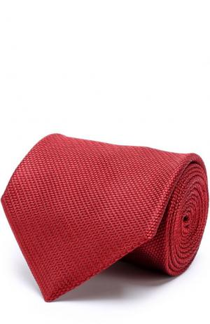 Шелковый галстук Tom Ford. Цвет: бордовый