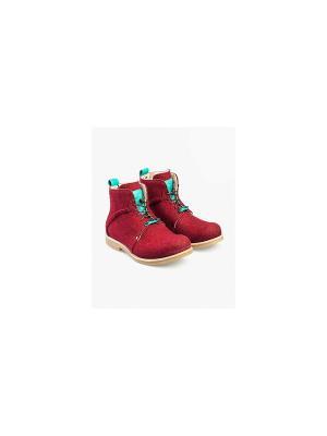 Ботинки Notmysize. Цвет: красный