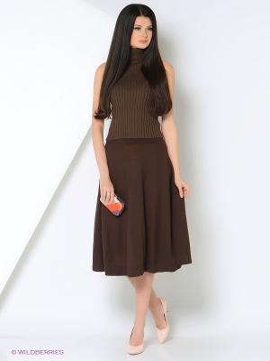 Кофточка RUXARA. Цвет: коричневый
