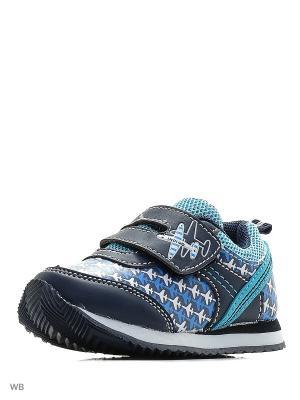 Ботинки Indigo kids. Цвет: голубой