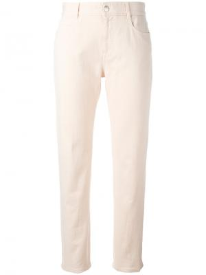 Прямые брюки Stella McCartney. Цвет: розовый и фиолетовый