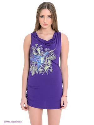 Платье Grishko. Цвет: фиолетовый