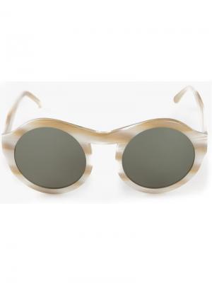 Солнцезащитные очки Chandler X Selima Optique. Цвет: белый