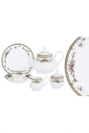Чайный сервиз Изабелла EMERALD. Цвет: мультицвет
