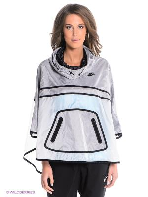 Пончо NIKE TECH HYPERFUSE PONCHO. Цвет: серый