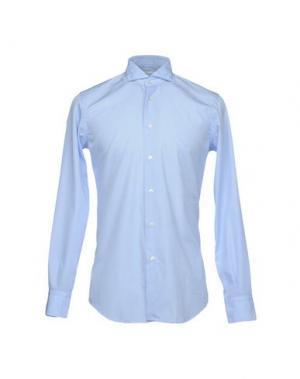 Pубашка QUEENSWAY. Цвет: небесно-голубой