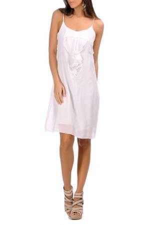 Платье Laklook. Цвет: белый