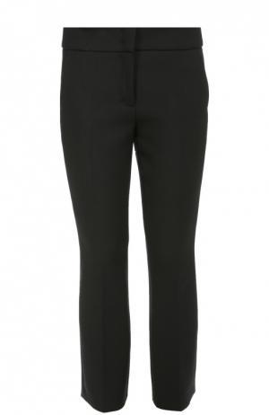 Укороченные прямые брюки с широким поясом карманами Dorothee Schumacher. Цвет: черный
