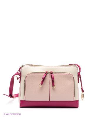 Сумка Jane Shilton. Цвет: фуксия, молочный, бледно-розовый