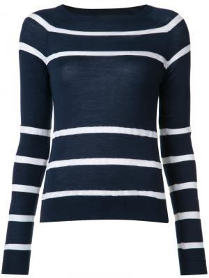 Striped knit jumper Jason Wu. Цвет: синий
