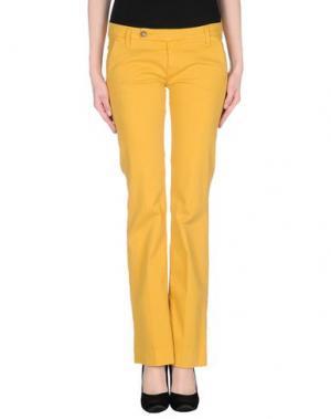 Повседневные брюки TRUE NYC.. Цвет: желтый