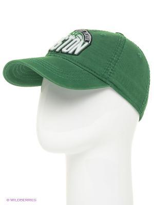 Бейсболка Maxval. Цвет: зеленый