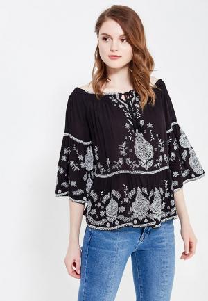 Блуза Jennyfer. Цвет: черный