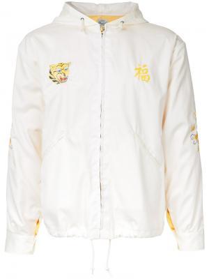 Куртка Vietnam с капюшоном Gold / Toyo Enterprise. Цвет: белый