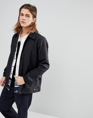 Dickies Черная спортивная куртка Torrance. Цвет: коричневый