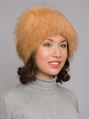 Шапка Slava Furs. Цвет: золотистый