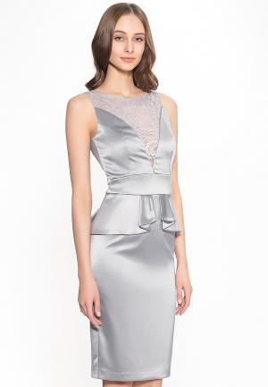 Платье Stella Di Mare. Цвет: серый