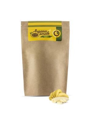 Аргановый скраб кофейный, банан, 150 гр Huilargan. Цвет: коричневый