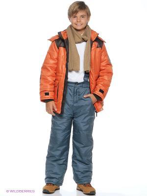 Куртка Батик. Цвет: оранжевый