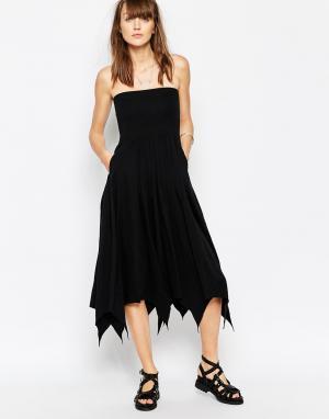 The Furies Платье-бандо Parasol. Цвет: jet black