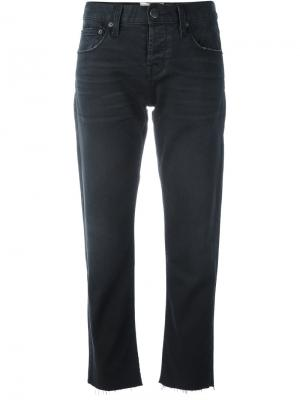 Укороченные брюки Current/Elliott. Цвет: чёрный