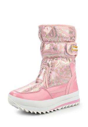Дутики Mon Ami. Цвет: розовый