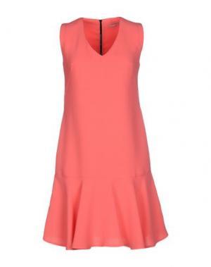Короткое платье HOPE COLLECTION. Цвет: коралловый