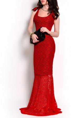 Платье MONT PELLIER. Цвет: красный