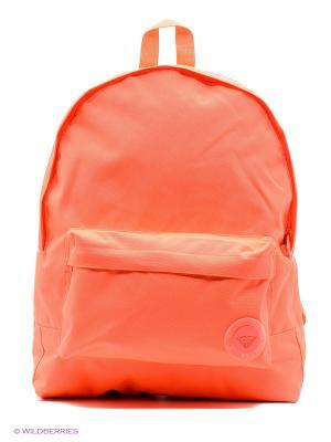 Рюкзак ROXY. Цвет: коралловый, красный