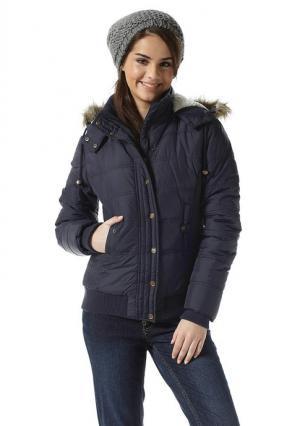 Стеганая куртка AJC. Цвет: черный