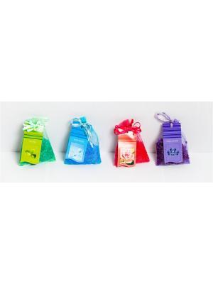 Ароматизированные горошины, 4 аромата по  10 гр Индокитай. Цвет: светло-зеленый, голубой, красный