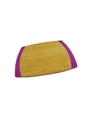 Доска разделочная BAMBOO 35,6х27,9х2,1 см GIPFEL. Цвет: коричневый