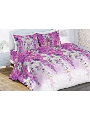 Комплект постельного белья 2,0 бязь Вдохновение Любимый Дом. Цвет: лиловый