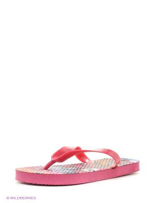 Пляжная обувь детская Mon Ami. Цвет: фуксия
