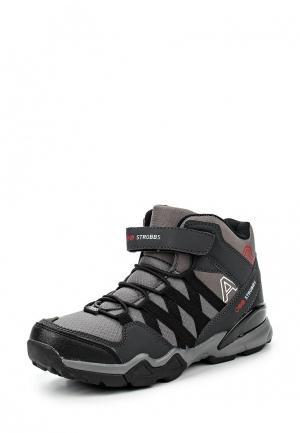 Ботинки трекинговые Strobbs. Цвет: серый