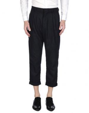 Повседневные брюки A QUESTION OF. Цвет: темно-синий