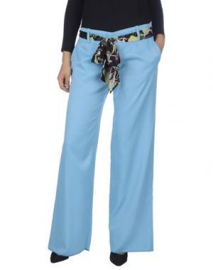 Повседневные брюки KILLAH. Цвет: лазурный