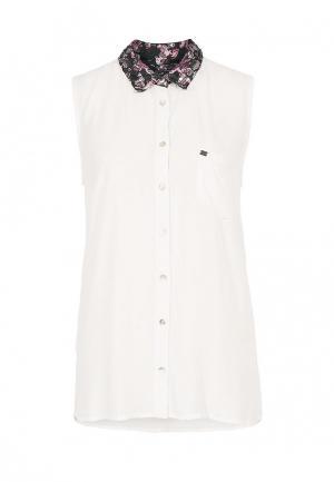 Блуза s.Oliver Denim. Цвет: белый
