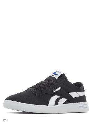 Кеды муж. REEBOK ROYAL GLOBAL BLACK/WHITE. Цвет: черный