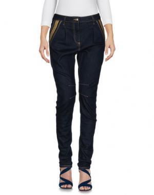 Джинсовые брюки CARLA G.. Цвет: синий