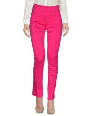 Повседневные брюки PF PAOLA FRANI. Цвет: фуксия