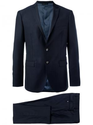 Деловой костюм Abito Tonello. Цвет: синий