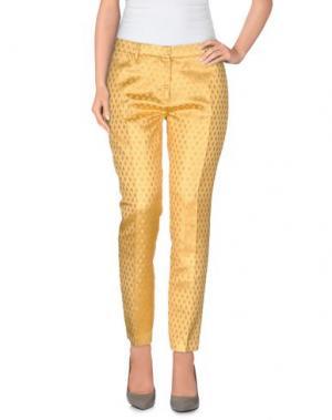 Повседневные брюки TRĒS CHIC S.A.R.T.O.R.I.A.L. Цвет: желтый