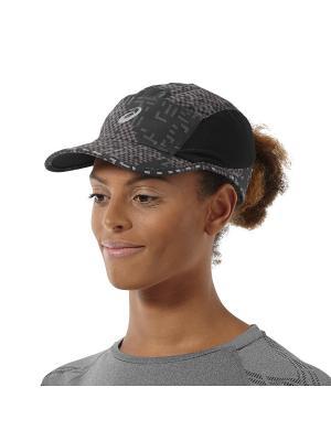 Кепка PERFORMANCE LYTE CAP ASICS. Цвет: черный