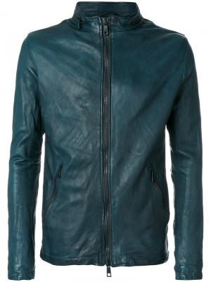Куртка с двухсторонней застежкой-молнией Giorgio Brato. Цвет: зелёный